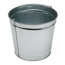 Commercial Zone Large Steel replacement Pail for Smokers Outpost 12 qt. Durable