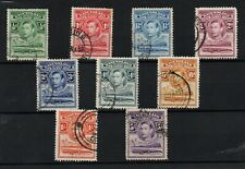 More details for basutoland kgvi 1938 fine used collection to 5/- ws23773