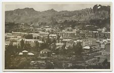 La Paz Bolivia Birdseye View RPPC Real Photo Postcard