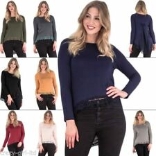 Long Sleeve Fitted Tops & Shirts for Women with Bows