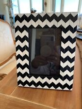 Picture Frame Black/white Mosaic Design