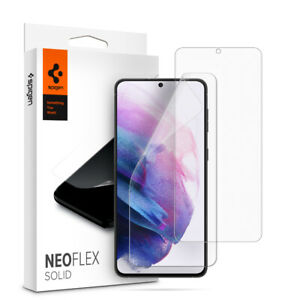 For Galaxy S21, S21 Plus, S21 Ultra Screen Protector, Spigen Neo Flex 2 Pack