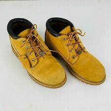Timberland Womens 8 Nubuck Chukka Boots Waterproof Ankle Length Excellent