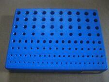 Bohrerbrett / Leerbox für Spiralbohrer 1 - 10 mm für 111 Stück Spiralbohrer CNC