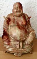 Chinesische Speckstein Figur Hotai Budai Buddha Soapstone Shoushan carving