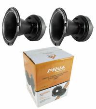 "2x Pro 2"" Compression Horn Driver 8 Ohm Titanium 400W PRV Car Audio WG2500Ti"