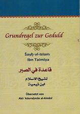 ISLAM-ABAYA-NIQAB-KORAN-Kopftuch-Khimar-Grundregel zur Geduld