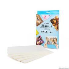 Fuji Shacolla Box 8x12 20,3 x 30,5 cm 5er PackFoto Klebeplatten Wandbefestigung