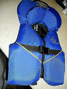 STOHLQUIST-BLUE INFANT LIFE VEST JACKET FOR < UNDER 30 POUNDS PRE-OWNED LOOK