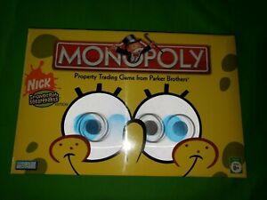 Monopoly SpongeBob SquarePants Edition Nick 2005 Collectors Sealed damage boxes