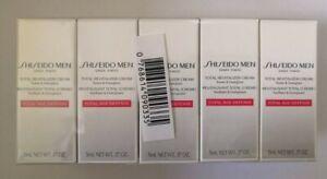 10 x Shiseido Men Total Revitalizer Cream 5ml Each - 50ml total