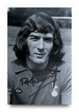Pat Jennings Hand Signed 6x4 Photo Tottenham Hotspur Arsenal Autograph + COA