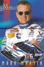 MARK MARTIN VALVOLINE RACING NASCAR WINSTON CUP COSTACOS MINI PHOTO POSTER