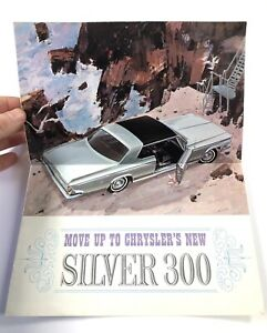 """1964 Chrysler 300K """"Silver Special"""" Brochure, Fold Out!"""