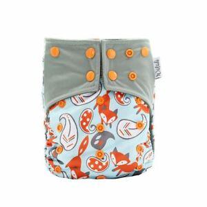 Fox Design Bamboo Charcoal Cloth Nappy
