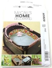 McCalls 5829 Home Decorating Pattern  Diaper Bag & Pad Sheets Pacifier Keeper