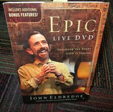 EPIC LIVE DVD 3-DISC DVD & CD ROM SET, DISCOVER THE STORY GOD IS TELLING, JOHN E