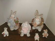 Dreamsicles Lot of 6 Figurines Cast Art, Kristin, 90s, Bunnies