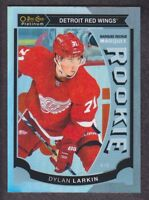 2015-16 O-Pee-Chee Platinum Marquee Rookie Rainbow #M45 Dylan Larkin Red Wings