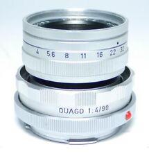 Leica ELMAR 4/90 + Leitz OUAGO 1:4/90  Traum Zustand! Objektiv ff-shop24