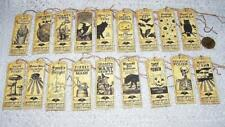 Halloween~Witch~Potion~Label~Bat~Cat~Wicca~Linen Cardstock~Gift~Hang~Tags