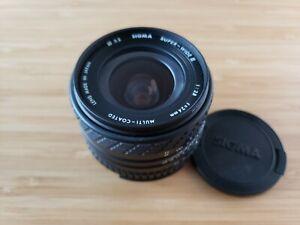 Sigma MF 24mm f/2.8 Super Wide II Lens for Nikon F w/caps-hood Fully Tested Lens