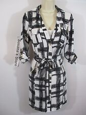 NWT BEBE ESME PRINTED SHIRT DRESS SIZE XS So sexy, Sure to turn heads!! $160