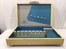 Vintage 1847 Rogers Bros Wooden Flatware Silverplate Storage Chest Box Art Deco