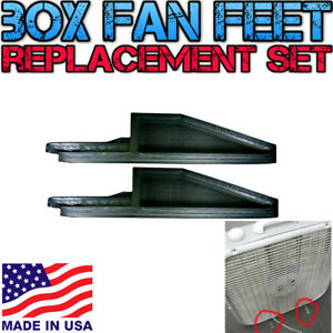 Box Fan Replacement Feet  3D Printed Fit Lasko and Other Brands USA Made