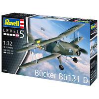 Revell 03886 Bucker Bu-131 D Military Plane Model Kit - Scale 1:32