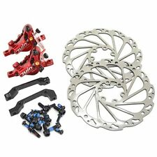 AU Ship~JUIN TECH R1 Hydraulic Road CX Disc Brake set 160mm w/ Rotor (F+R) ,RD