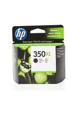 HP 350XL Schwarz Original Druckerpatrone mit hoher Reichweite für HP