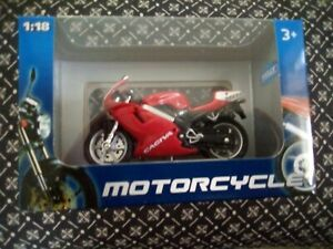 Cagiva mito 125 model motorcycle 1.18 scale by Welly.New.