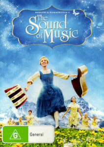 THE SOUND OF MUSIC DVD 1965 NEW Region 4 Julie Andrews Musical Classic