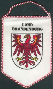 seltener orig. Wimpel des Landes Brandenburg, I/II