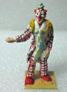 LOU JACOBS CIRCUS CLOWN PERFORMER O 1:48 SCALE Model Painted Figure FGY146