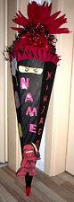Bastelset für eine Schultüte passend zu Ninja Go - Schultüte Ninja  Ninjakämpfer