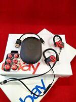 Genuine Beats by Dr. Dre Powerbeats 3 Wireless Bluetooth Headphones Black/Red