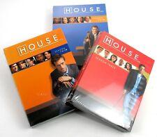 House M.D. - DVD - Season's 1 + 2 + 3 - Lot Of Three Seasons - Brand New