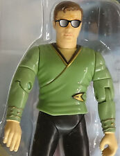 TOS Captain James Kirk in Casual Attire Playmates Star Trek Rare Figure Mint