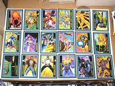 1993 ULTRAVERSE SKYBOX 100 TRADING CARD SET MALIBU COMICS!  NIGHT MAN TV SERIES