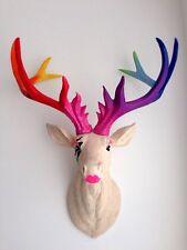 LARGE Unique decoration Stag Head Taxidermy Deer 'GaGa'