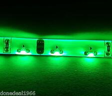 GREEN PC MODDING Mobo Retroilluminazione Case luci LED striscia MOLEX SINGOLO 50 CM STRISCIA
