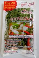 TOM YUM SOUP DRIED HERB AND VEGETABLE SET, 2-4 SERVINGS, 15G, THAI FAMOUS FOOD