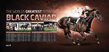 Black Caviar Unsigned Worlds Greatest Sprinter Retirement Sports Print Poster