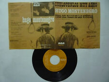 """HUGO MONTENEGRO """"THEME FROM VALLEY OF THE DOLLS"""" RCA 1968 - RARE  MEXICAN EP 7''"""