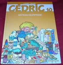 CEDRIC 10 - GATEAU-SURPRISE - LAUDEC CAUVIN - TBE