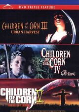 NEW TRIPLE FEATURE DVD  // CHILDREN OF THE CORN - III, IV, V  // 3,4,&5