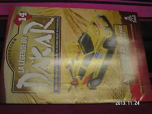 Fascicule Legende Paris Dakar n°14 Ari Vatanen Tombouctou Edition 1991