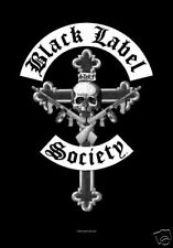 """BLACK LABEL SOCIETY Crucifix Cross 29""""X43"""" Cloth Fabric Textile Poster Flag-New!"""